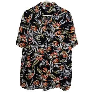 George Short Sleeve Island Shirt. XLT.